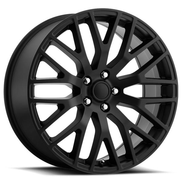 FORD MUSTANG PERFORMANCE STYLE 54 SATIN BLACK RIM by FACTORY REPRODUCTIONS WHEELS
