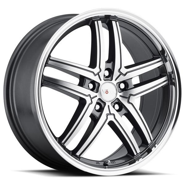 VOXX TORINO GUNMETAL RIM with MACHINED FACE and MIRROR LIP PPT by SPECIAL BUY WHEELS