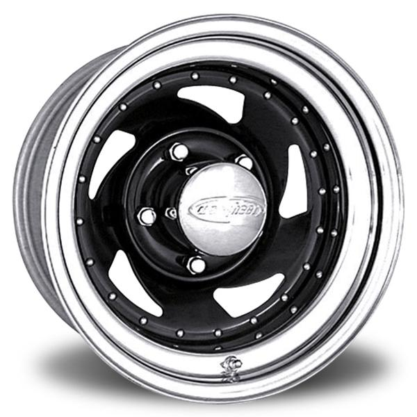 BLADE 24 SERIES GLOSS BLACK PAINTED CENTER RIM with CHROME by U.S. WHEEL