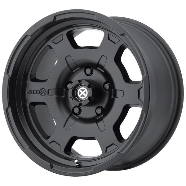 ATX SERIES AX198 CHAMBER II SATIN BLACK RIM PPT SET OF 4 by SPECIAL BUY WHEELS