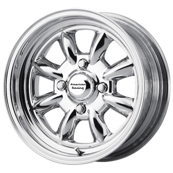 VN401 SILVERSTONE POLISHED RIM by AMERICAN RACING WHEELS