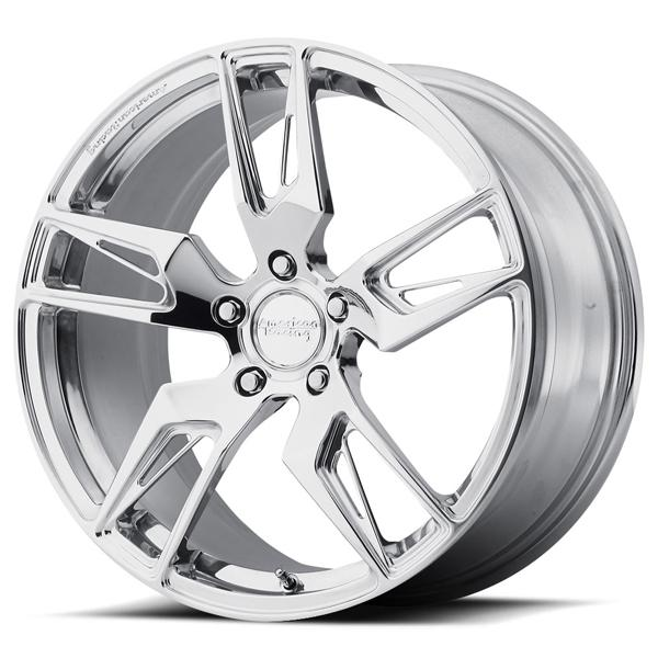 VF100 SCALPEL FORGED DIRECTIONAL POLISHED RIM by AMERICAN RACING WHEELS