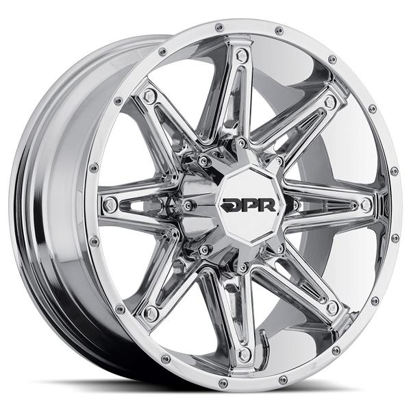 DPR OFFROAD 800 GLOC CHROME RIM DISPLAY SET 1 SET ONLY - SOLD AS IS by SPECIAL BUY WHEELS