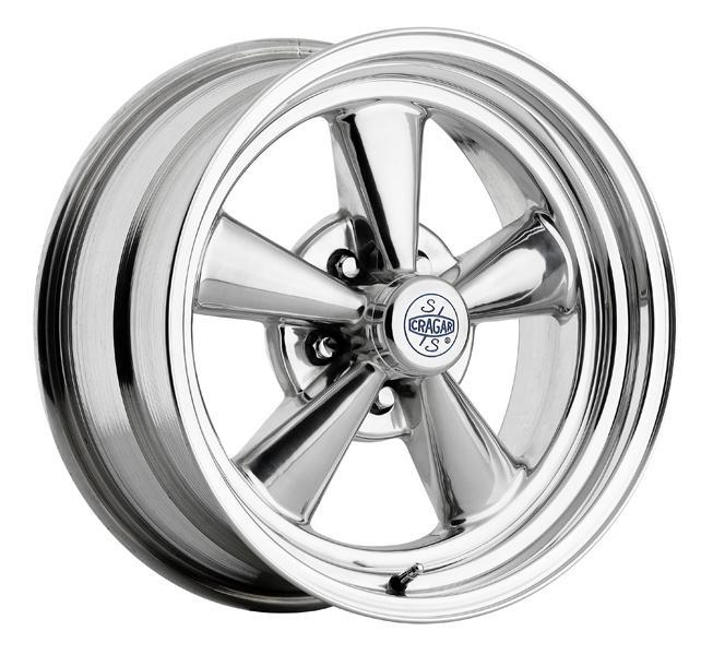 CRAGAR 612P S/S SUPER SPORT ALUMINUM POLISHED RIM by SPECIAL BUY WHEELS