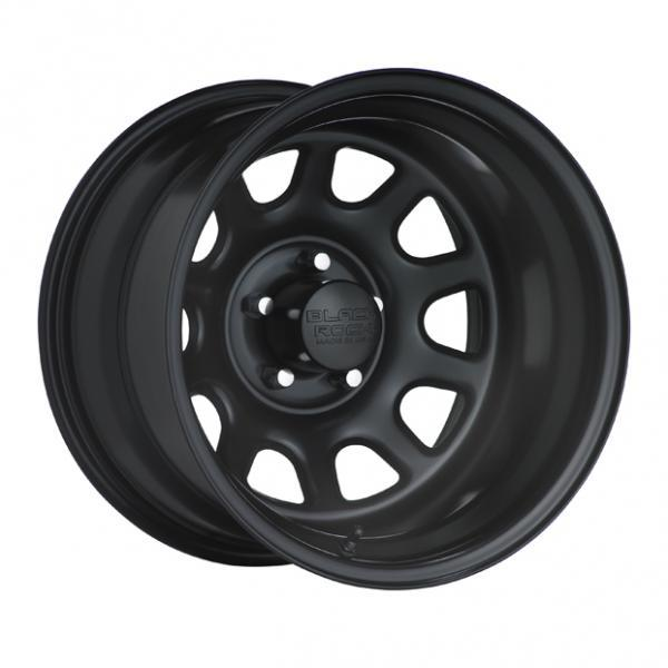 BLACK ROCK 942B TYPE D BLACK RIM by SPECIAL BUY WHEELS