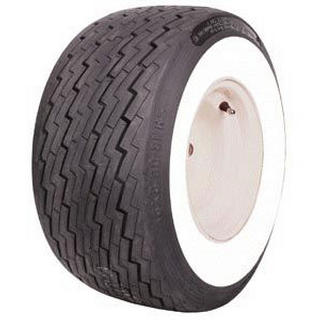 COKER GOLFCART WHITEWALL TIRE 18x8.50 by COKER TIRES