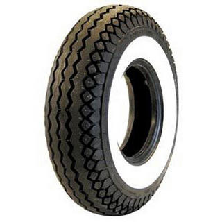 COKER SCOOTER TIRES ANTIQUE WHITEWALL TIRE 475-775 by COKER SCOOTER TIRES