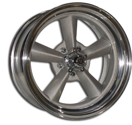 V40 2 PIECE BLASTED CENTER and MACHINED OUTER RIM by VINTAGE WHEEL WORKS